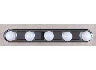 Volume Lighting 5-Light Bath Bar