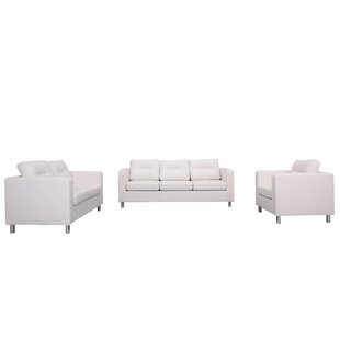 Clarence 3 Piece Living Room Set ByWade Logan