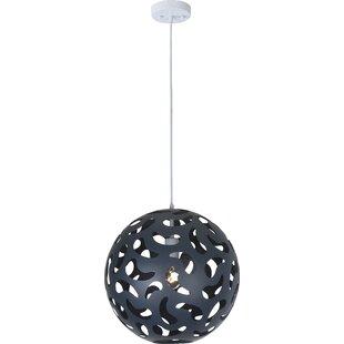 Wrought Studio Chien 1-Light Globe Pendant