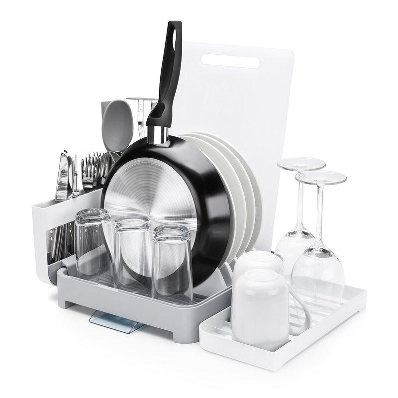 5dcf08582043 Minky Homecare Foldaway Dish Rack & Reviews | Wayfair