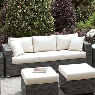 Peters Patio Sofa with Cushions
