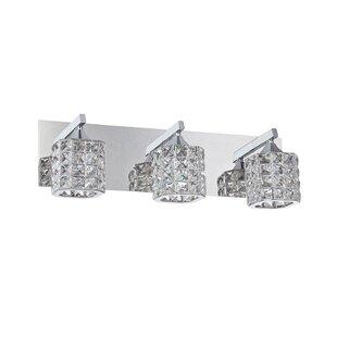 Affordable Hopkins 3-Light Vanity Light By Rosdorf Park