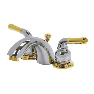 Kingston Brass Magellan Mini Widespread Bathroom Faucet with Drain Assembly