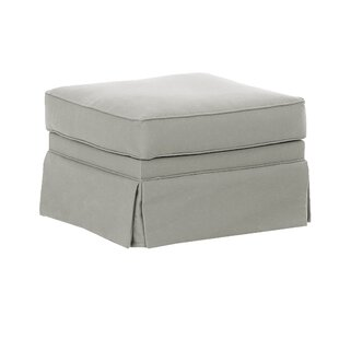 Wayfair Custom Upholstery™ Foote Skirted Ottoman