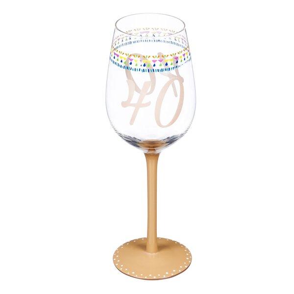 The Party Aisle 12 Oz Stemmed Wine Glass Wayfair