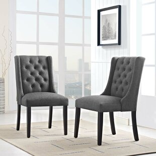 Java Upholstered Dining Chair (Set of 2) Alcott Hill