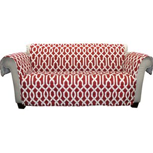Caledonia Box Cushion Sofa Slipcover by Alcott Hill