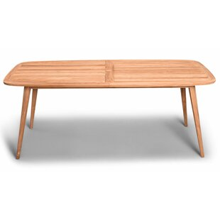 Hogue Teak Solid Wood Dining Table