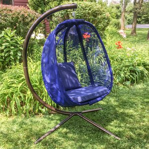 egg swing chair with stand - Wayfair Hot Tub