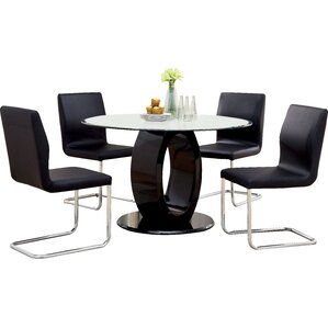 Benedict 5 Piece Dining Set by Hokku Designs