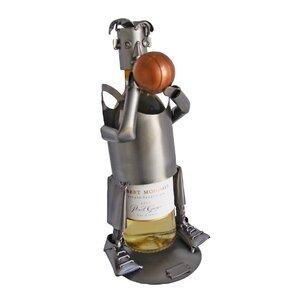 Basketball 1 Bottle Tabletop Wine Rack by..