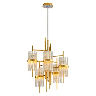 Corbett Lighting Symphony 5-Light Shaded Chandelier