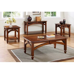 Bernards Arch Design 3 Piece Coffee Table Set