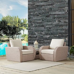 Boomer 3 Piece Conversation Set with Cushions