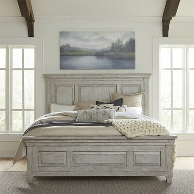 Heartland Sleigh Bed Gracie Oaks