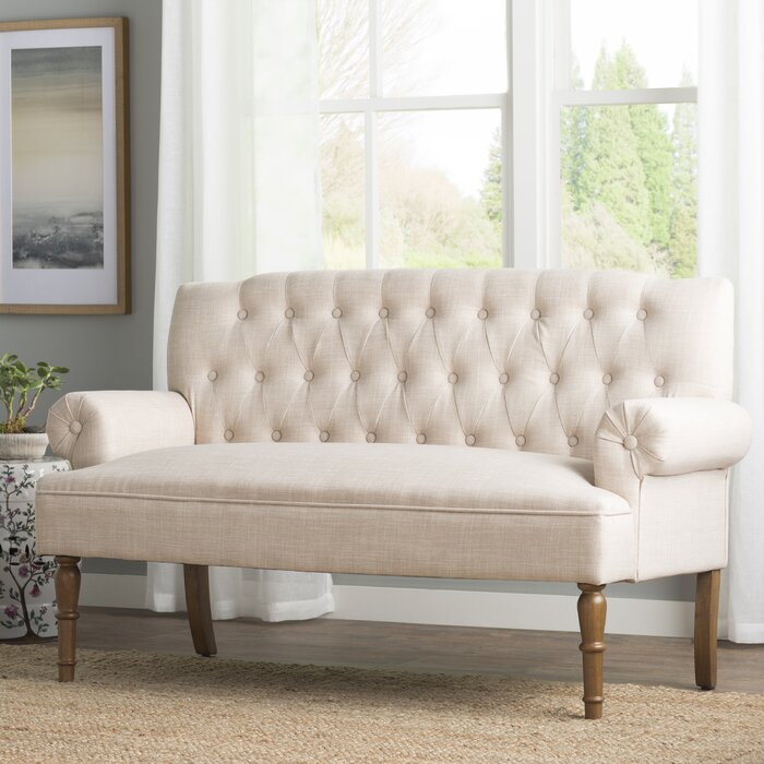 Pleasant Bjorn Chesterfield Settee Beatyapartments Chair Design Images Beatyapartmentscom