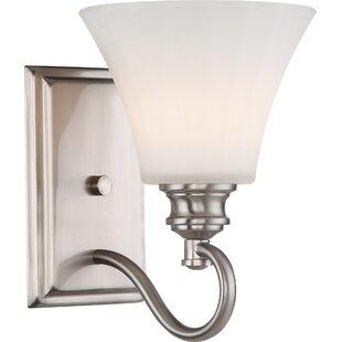 Eich 1-Light Bath Sconce by Charlton Home
