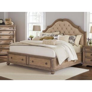 Astoria Grand Leffel Storage Platform Bed