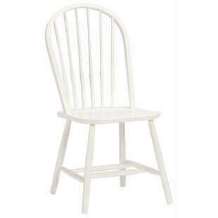 Bonneau Solid Wood Dining Chair by Harriet Bee #2
