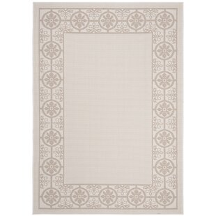 Hahn Beige/Ivory Indoor/Outdoor Area Rug