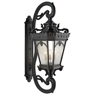 Check Prices Guzzi 5-Light Outdoor Wall Lantern By Fleur De Lis Living