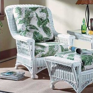 3200 Bass Harbor High Back Chair by South Sea Rattan