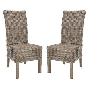 Price comparison Nella Side Chair (Set of 2) by Highland Dunes Reviews (2019) & Buyer's Guide