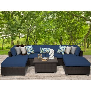 TK Classics Belle 7 Piece Sectional Set with Cushions