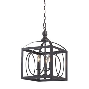 Aditya 3-Light Pendant by Charlton Home