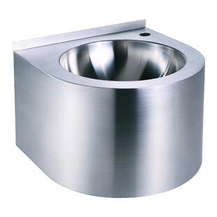 Noahs Metal 12 inch  Wall Mount Bathroom Sink