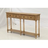 Crary 58 Solid Wood Console Table by One Allium Way®