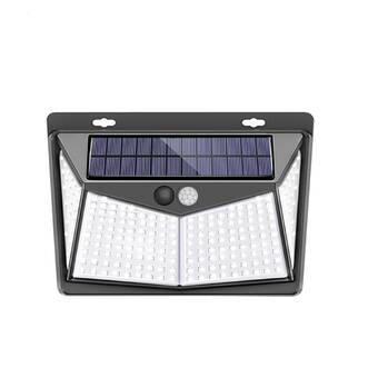 LED Solar Reflector Motion Sensor Floodlight High Power Outdoor Security Lamp