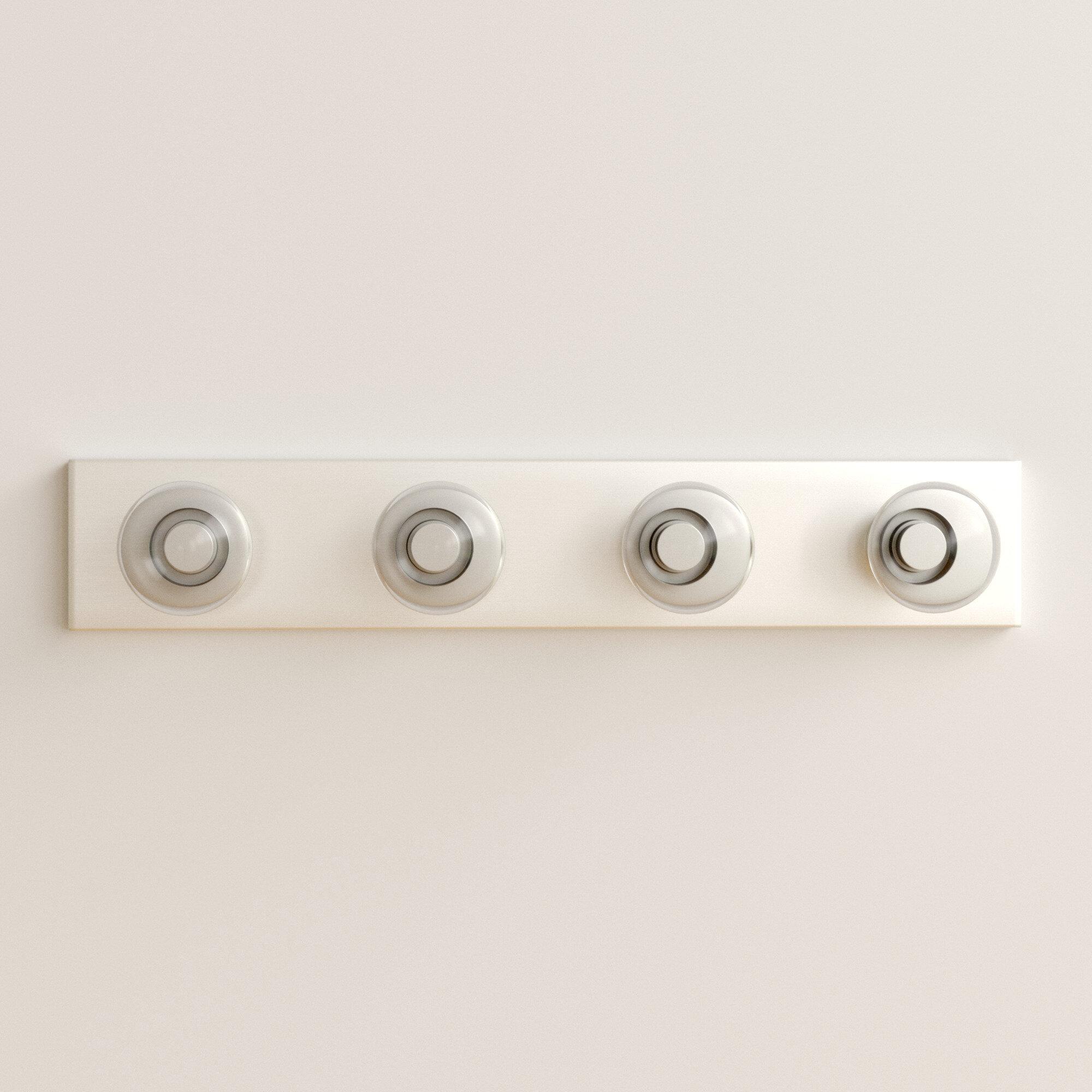 Zipcode Design Jannie 4 Light Bath Bar Reviews Wayfair