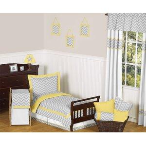 Zig Zag 5 Piece Toddler Bedding Set
