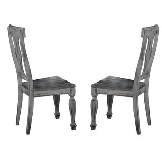 """O""""Hare Solid Wood Dining Chair (Set of 2) by Alcott Hill SKU:BB754460 Details"""