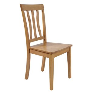 Gold Solid Wood Dining Chair by August Gr..