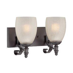 Vanhorne 2-Light Vanity Light by Darby Home Co