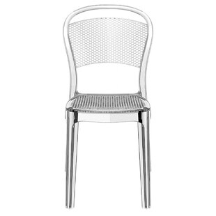 Cancel Bee Stacking Patio Dining Chair (Set of 2)