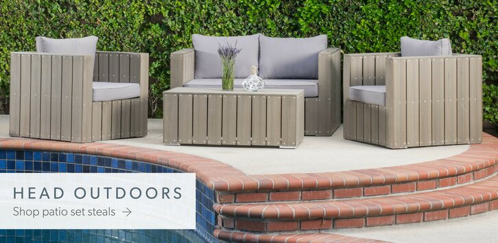 Modern Patio Furniture Table outdoor | allmodern