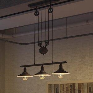 Janesville 3-Light LED Kitchen Island Pendant