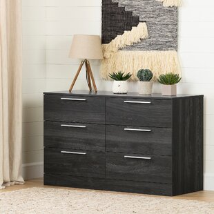 Step One Essential 6 Drawer Double Dresser by South Shore