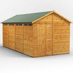 8 Ft. W X 16 Ft. D Solid Wood Garden Shed By WFX Utility