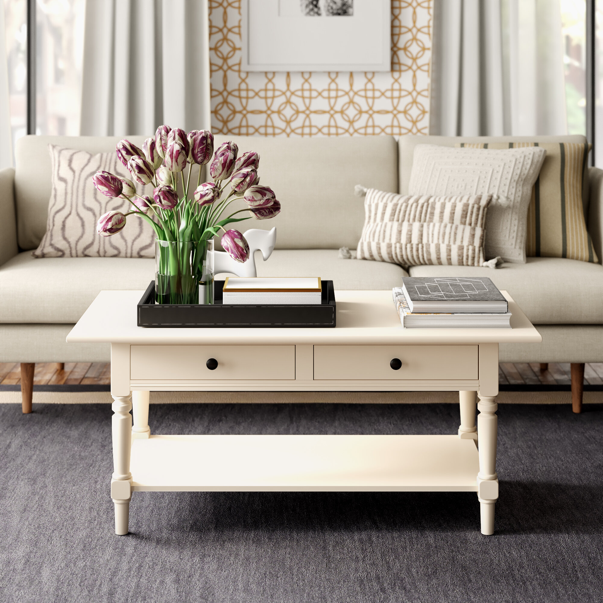 - Clive Coffee Table With Storage & Reviews Joss & Main