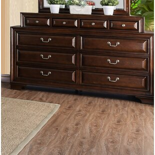Rector 10 Drawer Double Dresser by Charlton Home