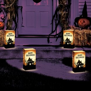 Luminarias Haunted House Luminary (Set of 24)