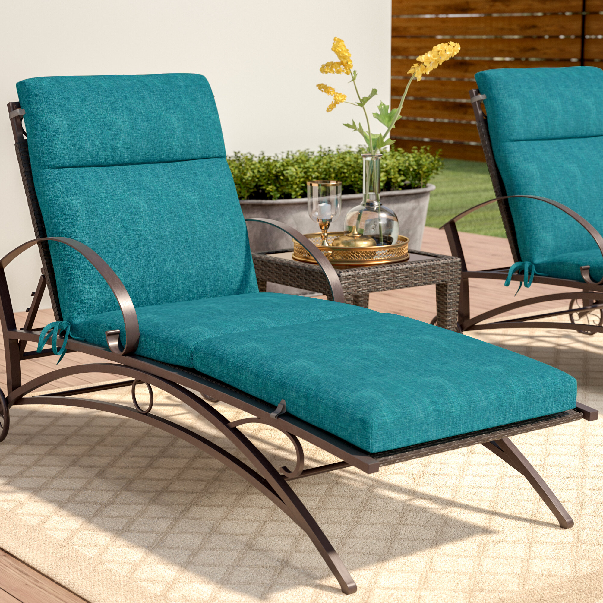 Three Posts Indoor Outdoor Seat Back Cushion Reviews Wayfair