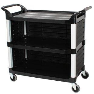 Cosmopolitan Furniture 3 Tiers Plastic Serving Bar Cart