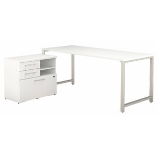 400 Series Desk Office Suite by Bush Business Furniture Great Reviews