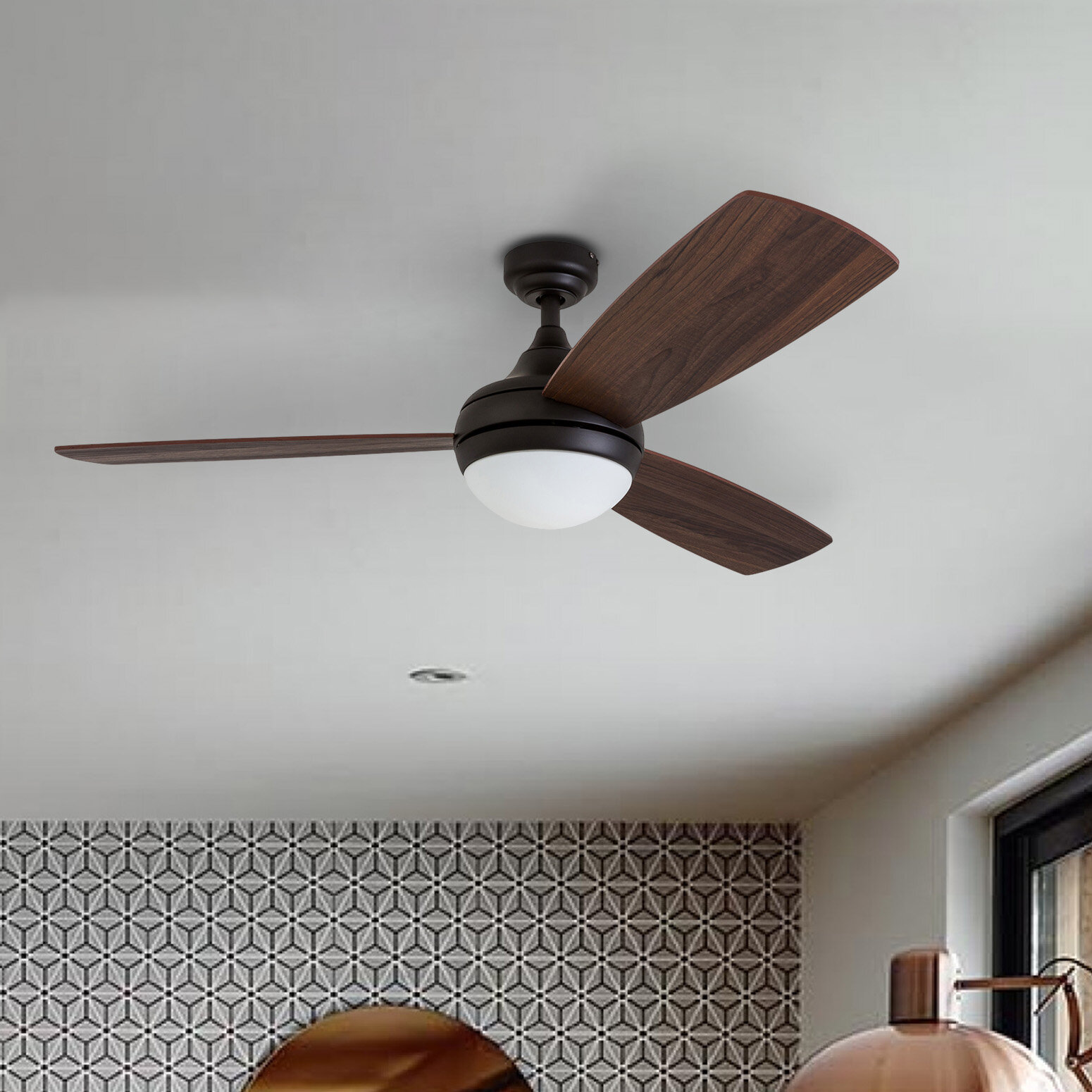 Bronze Ceiling Fans You Ll Love In 2021 Wayfair