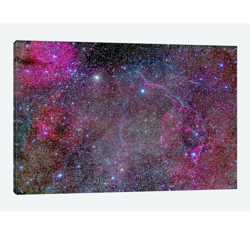 East Urban Home Vela Supernova Remnant In The Center Of The Gum Nebula Area Of Vela By Alan Dyer Graphic Art Print On Wrapped Canvas Wayfair